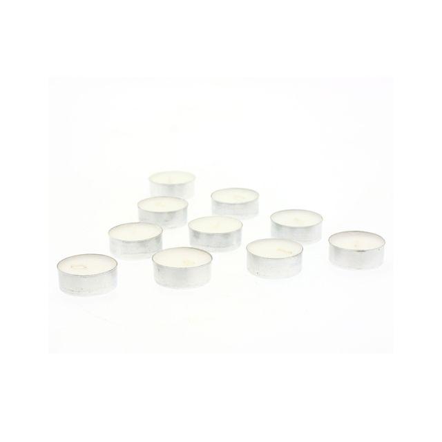 Comptoir Des Bougies Lot de 10 bougies anti-tabac - Blanc