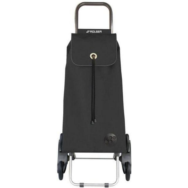 rolser poussette de march 6 roues 43l gris fonc. Black Bedroom Furniture Sets. Home Design Ideas