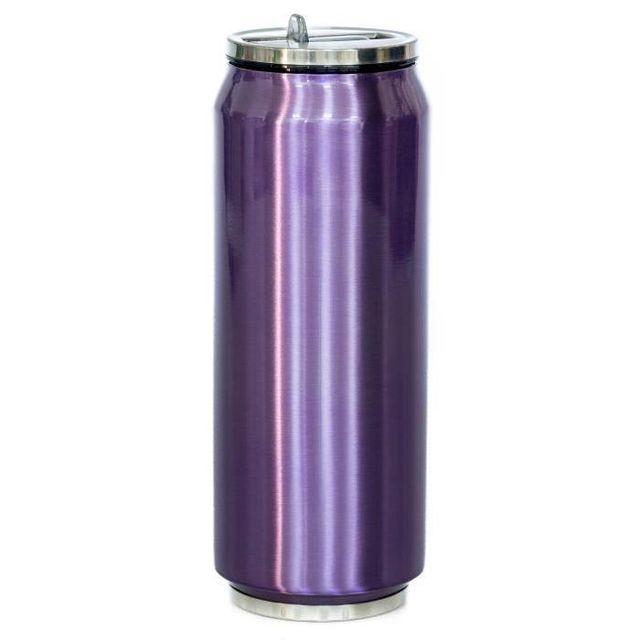 YOKO DESIGN Mug-Canette isotherme 500 ml - Violet