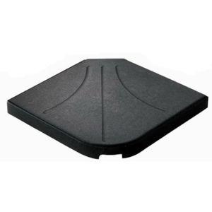hesperide dalle b ton pour parasol d centr 25 kg hesp ride pas cher achat vente. Black Bedroom Furniture Sets. Home Design Ideas