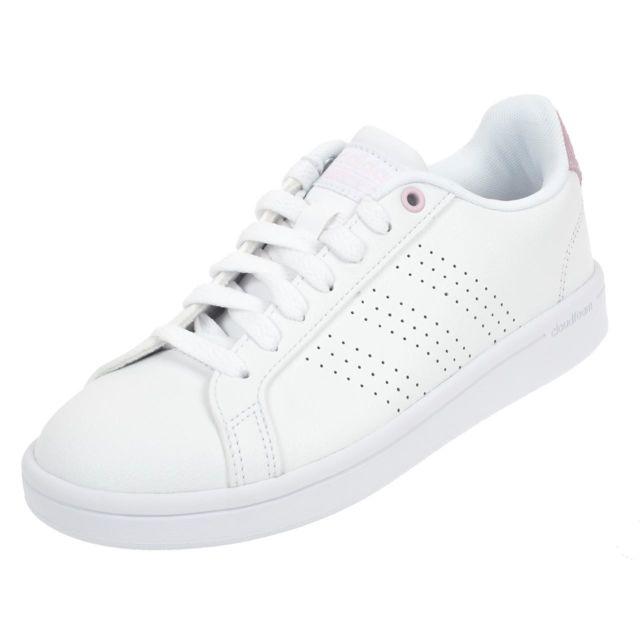 Chaussures Advantage Ville W Mode Cf Blanc Adidas 37 Cl Neo 76451 cKuTJ5l1F3