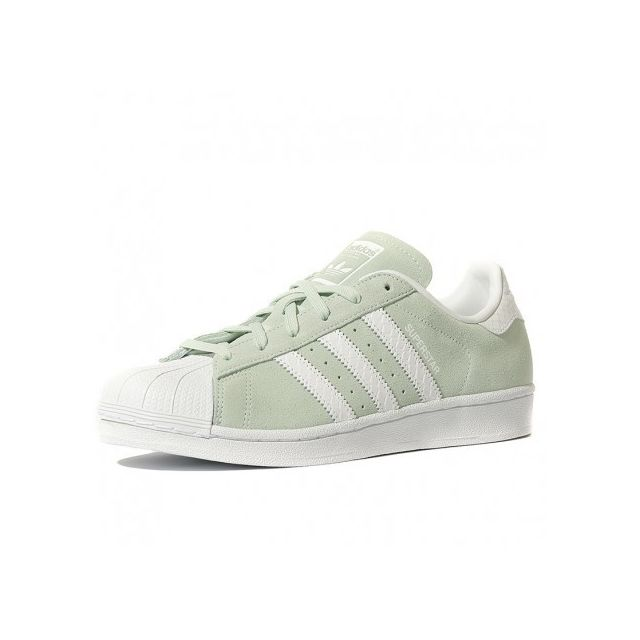 Adidas originals - Superstar Homme Chaussures Vert Multicouleur - pas cher Achat / Vente Baskets homme - RueDuCommerce