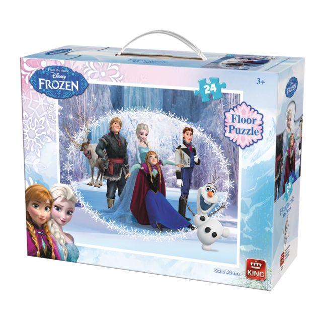 King Puzzles Puzzle 24 pièces Xxl : La Reine des Neiges Frozen