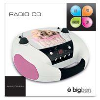 Bigben - Lecteur radio cd portable motif chien