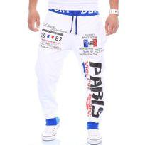 Cincjeans - Jogging homme sportswear Jogging 631 blanc fashion