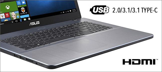 ASUS R702 - Connectique