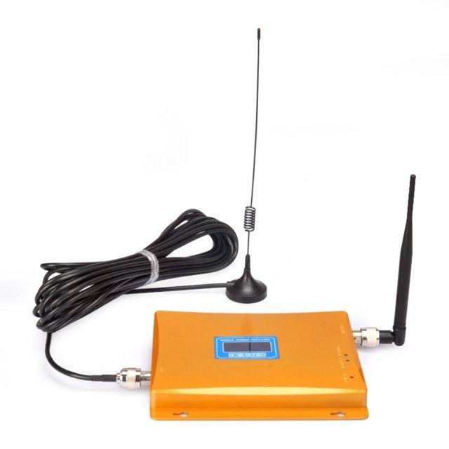 wewoo antenne booster or amplificateur de signal r p titeur de mobile gsm 980mhz led avec. Black Bedroom Furniture Sets. Home Design Ideas