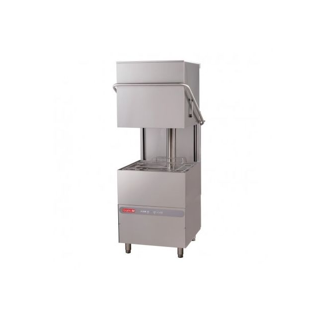 Gastro M Lave vaisselle à capot professionnel 3 Cycles de lavage