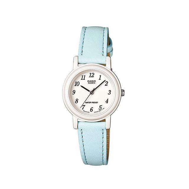 Casio - Lq139L 2B Montre femme ou enfant Casio à aiguilles bracelet cuir,  modèle chiffré 692c97236f0b