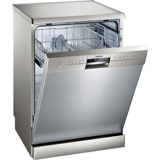 siemens - sn25l832eu - lave-vaisselle 12 couverts a+ silver inox