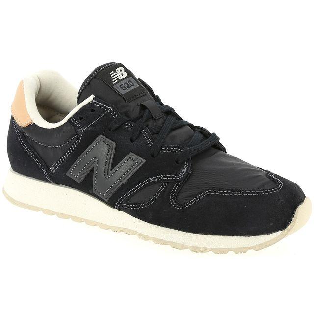 98cd7081ad0 New Balance - Wl520 Noir - pas cher Achat   Vente Baskets femme -  RueDuCommerce