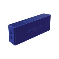 Creative Labs - Creative MUVO 2 Bluetooth Wireless Speaker Blue