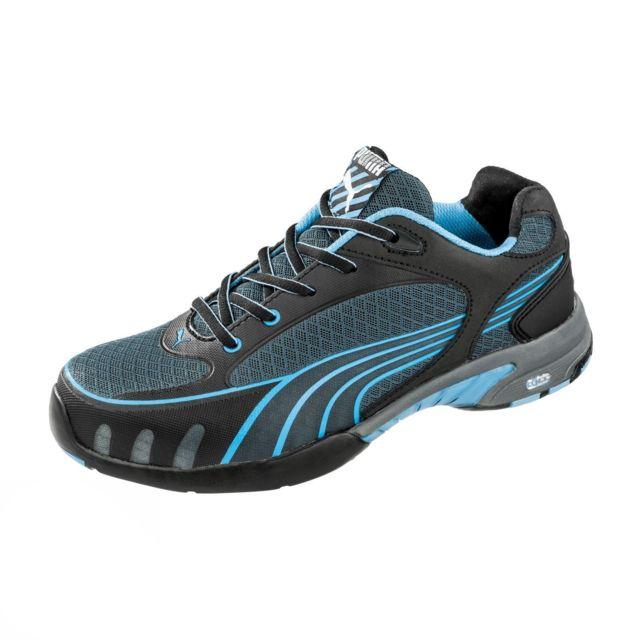 Femme Motion Chaussures Sécurité De 38 Puma Fuse Blue S1 64282 q34AR5jcL