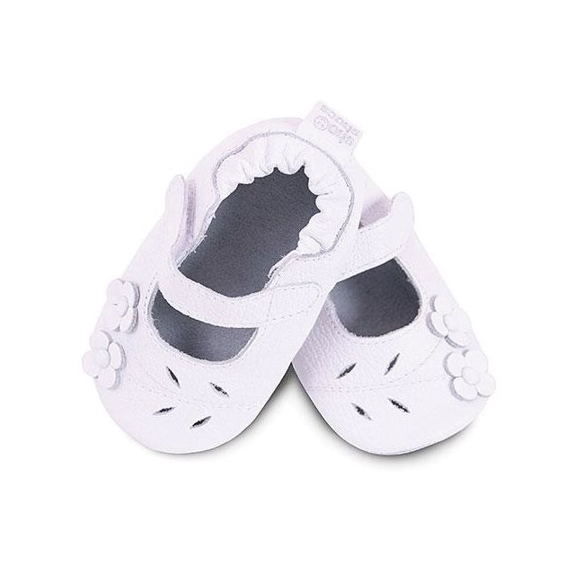 Shooshoos - Chaussons Bébé Mayfair Blanches 24-36 mois - pas cher ... d6faef1a6825