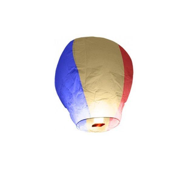 Sky Lantern - Lanterne volante Bleu Blanc Rouge X1