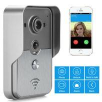 Shopinnov - Interphone Portier vidéo Vision nocturne App Android Détection de mouvement Pir