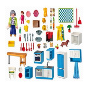 Playmobil 5329 cuisine pas cher achat vente for Playmobil cuisine 5329