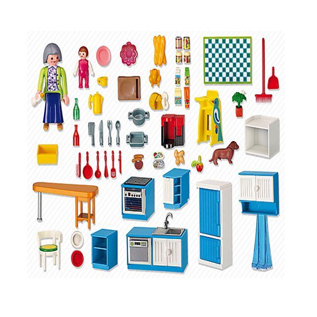 Playmobil 5329 cuisine pas cher achat vente - Playmobil cuisine 5329 ...