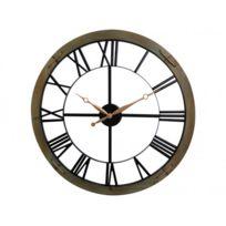 MARQUE GENERIQUE - Horloge murale PETER en métal - D.60 cm