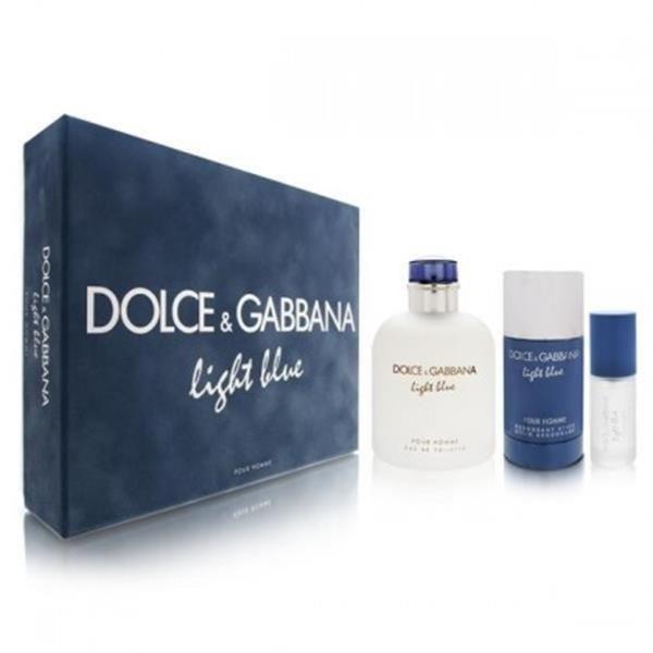 Dolce   Gabbana - Light Blue Homme Dolce G. Vapo 125 8 M + Ds75 ... d233b7a04fab