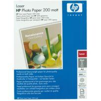 Hp - papier photo laser mat 200g a4 q6550a - paquet de 100 feuilles