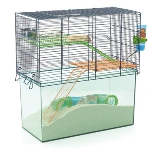 savic cage habitat gerbille metro pas cher achat vente cage pour rongeur rueducommerce. Black Bedroom Furniture Sets. Home Design Ideas