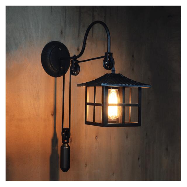 Kosilum Lampe Murale Industrielle Style Japonais Hoshi En