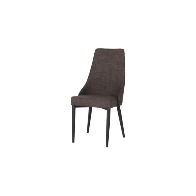 Meubles Thiry Lot de 2 chaises de salle à manger en tissu