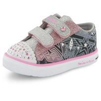 Skechers - Twinkle Breeze rose, baskets mode enfant