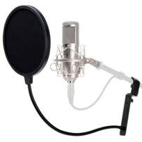 Pronomic - Cm-11 Studio. Micro à grosse membrane et filtre anti-plosives