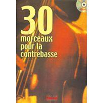 Play Music Publishing - Méthodes Et Pédagogie Beaujean M 30 Morceaux Contrebasse + Cd - Contrebasse Contrebasse