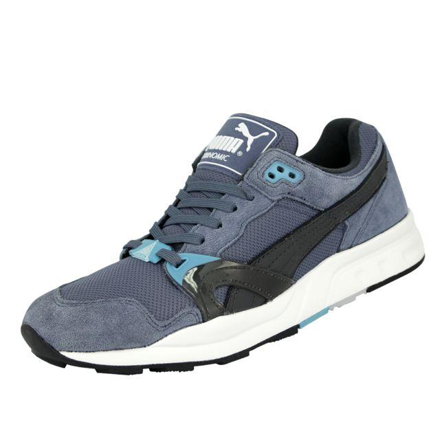 sports shoes bc73a 39465 Puma - Trinomic Xt1 Tech Chaussures Mode Sneakers Homme Bleu Trinomic - pas  cher Achat   Vente Baskets homme - RueDuCommerce