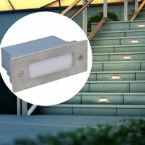 Rocambolesk - Superbe 2 Luminaires Led encastrés pour escalier 44 x 111 x 56 mm neuf