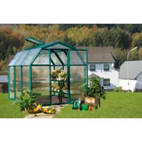 Rion - Serre de jardin polycarbonate Monet 197 x 321 x 193