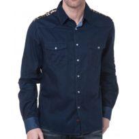 Sixth June - Chemise Homme En Jeans Design