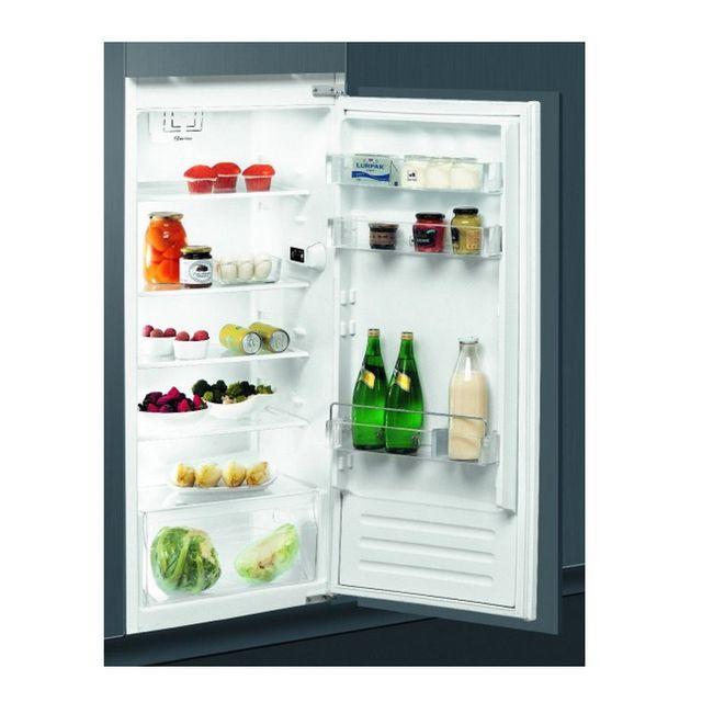 Whirlpool réfrigérateur 1 porte intégrable à glissière 209l a++ - arg850a