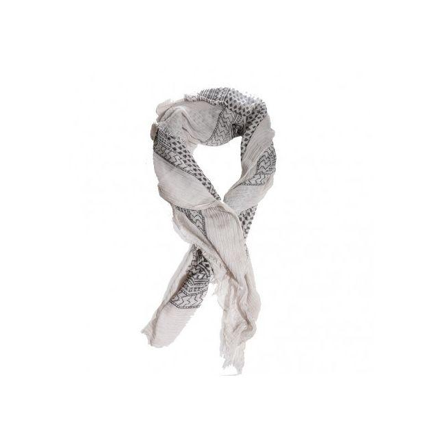 a366aefec5c0 Pieces - Rosa Long Femme Echarpe Beige - pas cher Achat   Vente Echarpes,  foulards - RueDuCommerce