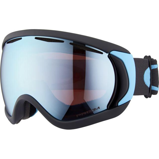 b81eff882ca55 Oakley - Canopy - Lunettes de protection - bleu noir - pas cher Achat    Vente Masque snowboard - RueDuCommerce