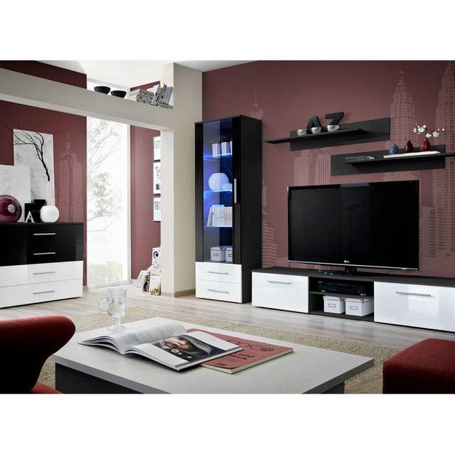 Paris Prix Ensemble Tv Mural 4 Éléments \
