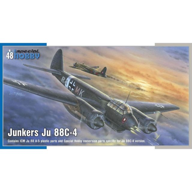 Special Hobby Maquette avion : Junkers Ju 88C-4