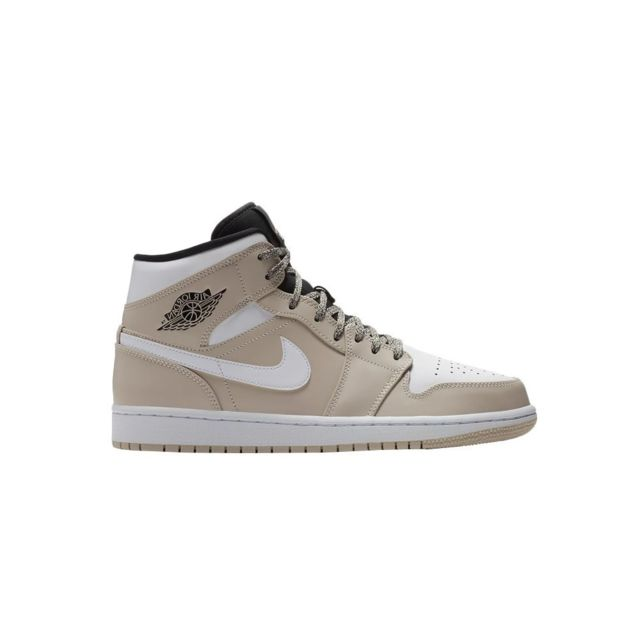 a3685745e80d4a Nike - Air Jordan I Mid - pas cher Achat   Vente Chaussures basket -  RueDuCommerce