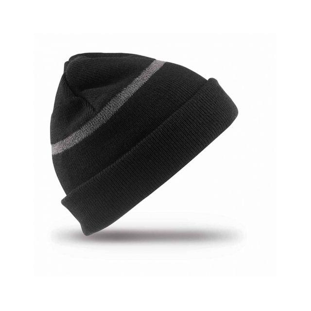 9897ff2f5590 Result - Bonnet Enfant ski hat - Rc033J - noir Taille unique - pas ...
