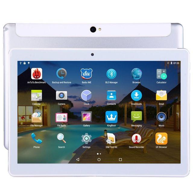 Yonis Tablette 4G 10.1 Pouces Ips 2K Android Octa Core Ram 2Go Dual Sim 32Go