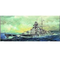 Trumpeter - Maquette bateau : Cuirassé allemand Bismarck 1941