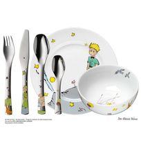 Wmf - Coffret vaisselle pour enfants 6 pièces en porcelaine et inox Le Petit PrinceNC