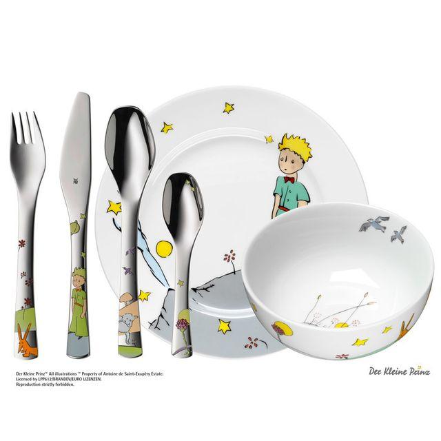 Wmf - Coffret vaisselle pour enfants 6 pièces en porcelaine et inox ...