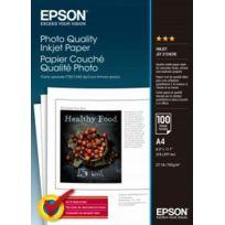 EPSON - Papier Couché Qualité Photo A4 102g - 100 Feuilles