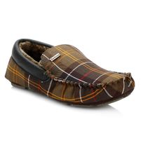 Barbour - Mens Check Monty Classic Slippers-UK 10