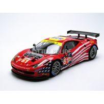Hotwheels - Elite MATTEL Ferrari 458 Gt2 - Gte-am Le Mans 2012 - 1/18 - Bct78