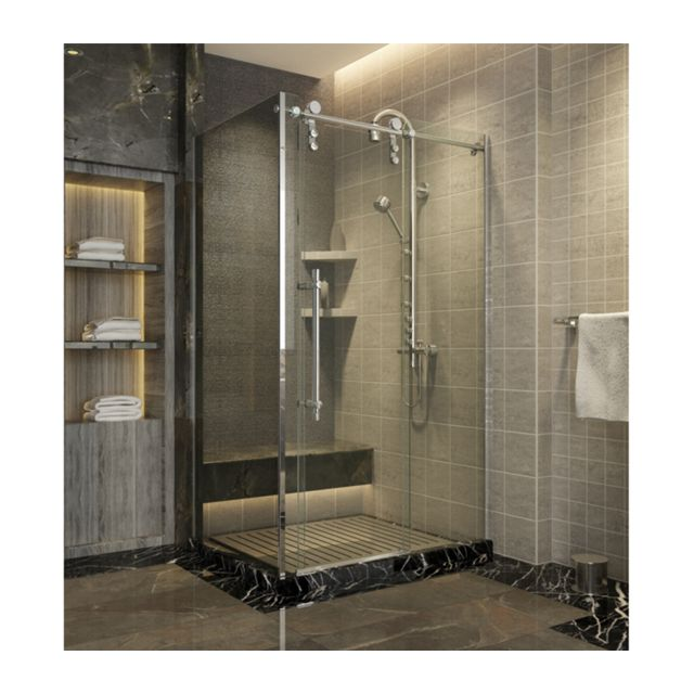 zeeshop paroi de douche avec porte coulissante. Black Bedroom Furniture Sets. Home Design Ideas
